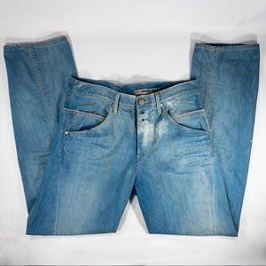 LEVI'S ENGINEERED Twisted Seam Blue Jeans 33x32